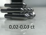 0,02-0,03ct (САУНО) - ПРИРОДНЫЙ АЛМАЗ