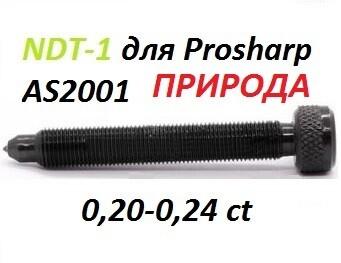 Алмазный карандаш NDT1 на Prosharp AS2001 L80mm 0,20-0,24ct ПРИРОДНЫЙ АЛМАЗ