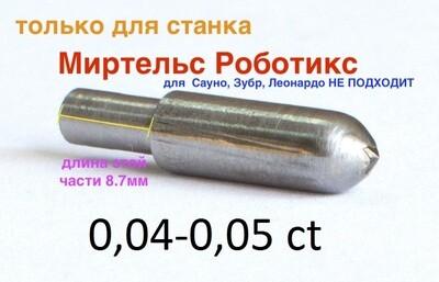 0,04-0,05ct Миртельс Роботикс (как для сауно только длина узкого диаметра 8,7мм)