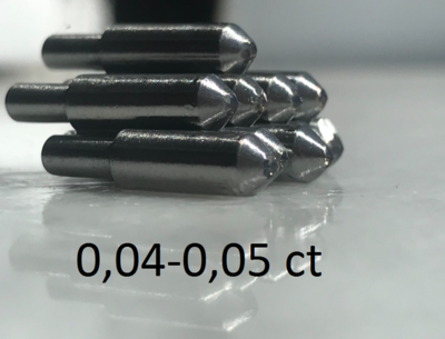 0,04-0,05ct (САУНО) - ПРИРОДНЫЙ АЛМАЗ