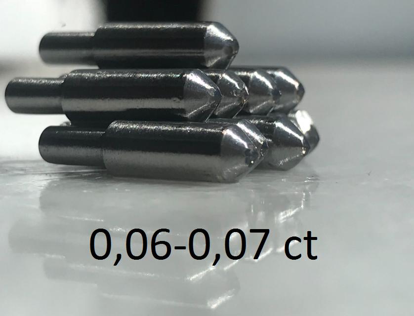 0,06-0,07ct - ПРИРОДНЫЙ АЛМАЗ