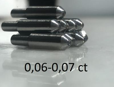 0,06-0,07ct (САУНО) - ПРИРОДНЫЙ АЛМАЗ