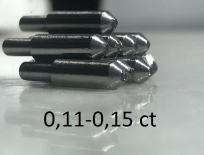 0,11-0,15ct (САУНО) - ПРИРОДНЫЙ АЛМАЗ