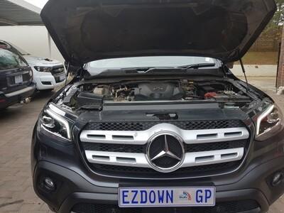 Mercedes Benz X Class - HOODLIFT (LIFTING YOUR HOOD/BONNET)