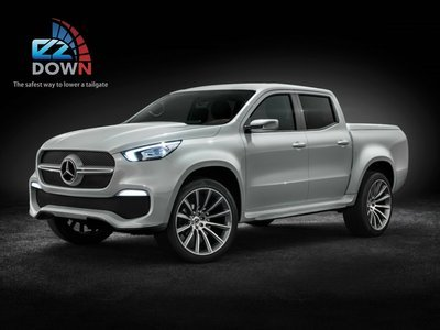 Mercedes Benz X Class - EZDown (LOWERING YOUR TAILGATE SAFELY)