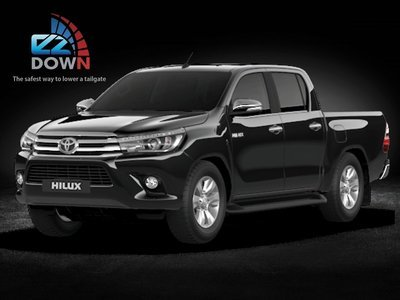Toyota Hilux REVO - EZDown 2017 - LATEST Model  (SAFEST WAY TO LOWER YOUR TAILGATE)