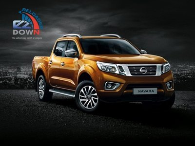 Nissan Navara -EZDown Reloaded (2019 - Early 2021 model) NO TORSION BAR IN TAILGATE (ASSISTING LOWERING AND LIFTING OF YOUR TAILGATE)
