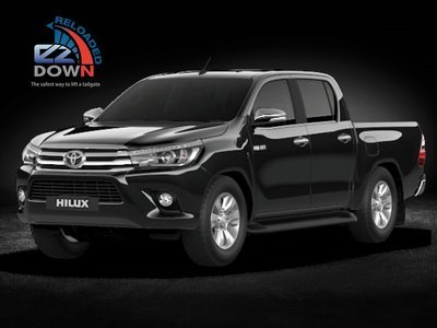 Toyota Hilux REVO - EZDown Reloaded - 2016 - current Model  (ASSISTING LOWERING AND LIFTING OF YOUR TAILGATE)