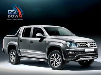 Amarok - Volkswagen - EZDown Reloaded with Torsion Bar 2014 (ASSISTING LOWERING AND LIFTING OF YOUR TAILGATE)