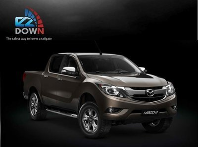 Mazda - EZDown (LOWERING YOUR TAILGATE SAFELY)