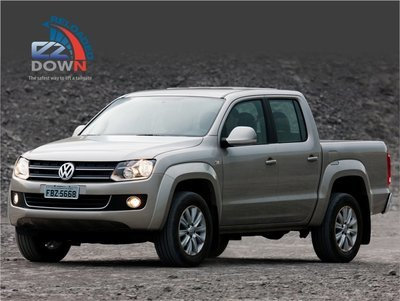 Amarok - Volkswagen - EZDown Reloaded (without T Bar) (ASSISTING LOWERING AND LIFTING OF YOUR TAILGATE)