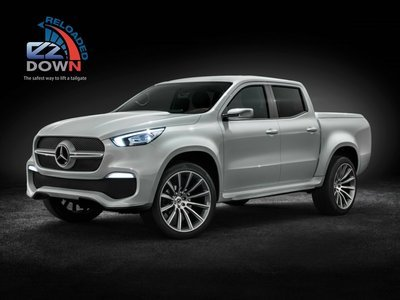 Mercedes Benz X Class - EZDown Reloaded (ASSISTING LOWERING AND LIFTING OF YOUR TAILGATE)
