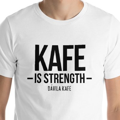 Kafe Fait la Force - English T-shirt for Men