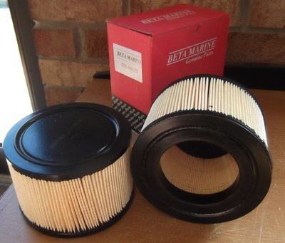 Beta Marine Air Filter for Beta 35 - 60 After 2011 (211-08133)