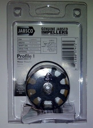 Jabsco Water Pump Kit 18653-0001 (Jabsco only)