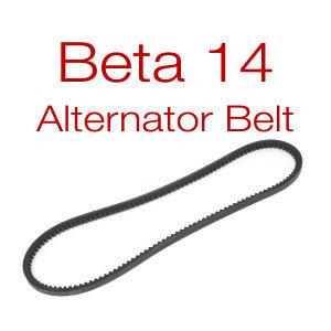 Beta 10-25 v-belt for 40 amp alternator