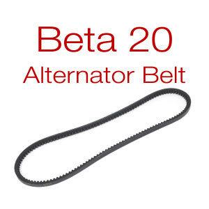 Beta 20 Belt - v-belt or multi-groove