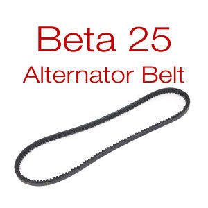Beta 25 Belt, v-belt or multi-groove