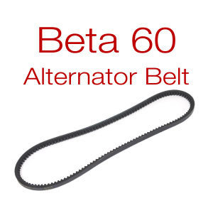 Belt for Beta 60 - v-belt or multi-groove
