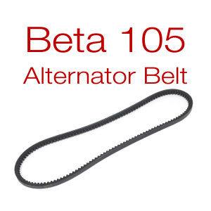 Belt for Beta 105 - v-belt or multi-groove