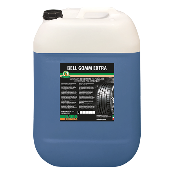 BELL GOMM EXTRA / BIANCO lucida gomme (conf. kg. 25)