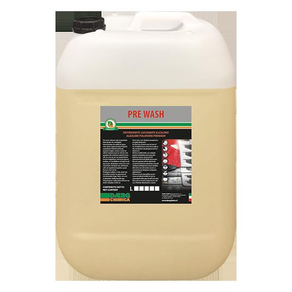 PRE WASH detergente lucidante alcalino (conf. kg. 25)
