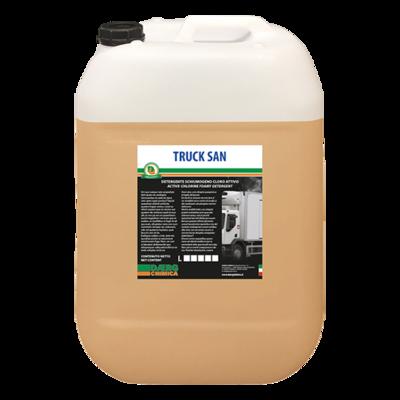 TRUCK SAN detergente schiumogeno cloro attivo (conf. kg. 25)