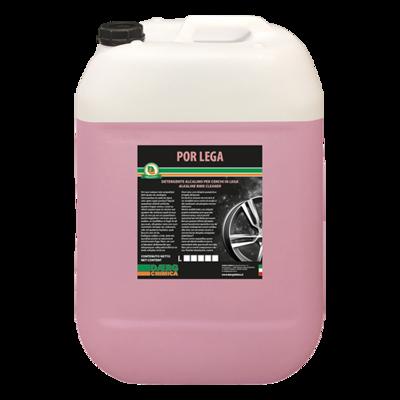 POR LEGA detergente alcalino cerchi in lega (conf. kg. 25)
