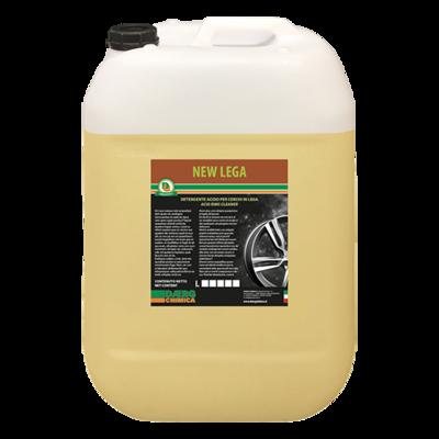 NEW LEGA detergente  acido per cerchi e sponde (conf. kg. 25)