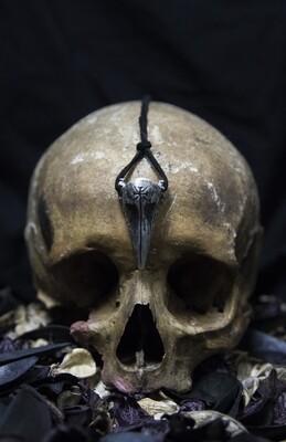 1347 - REQVIEM - PLAGUE DOCTOR MASK PENDANT