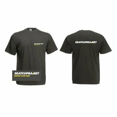 T-shirts with personalisation option