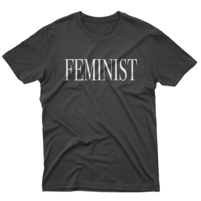 FEMINIST Black Unisex Tee