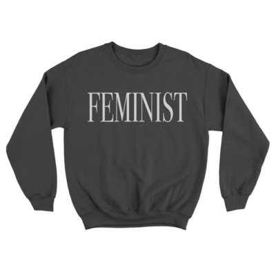 FEMINIST Black Unisex Sweatshirt