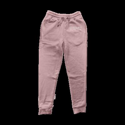 FEMINIST Dusty Pink Sweatpants