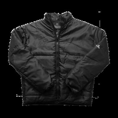 Eco Puffer Black Unisex Jacket