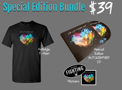 I'M LETTING GO SPECIAL EDITION PRE-ORDER BUNDLE  [LIMITED STOCK]