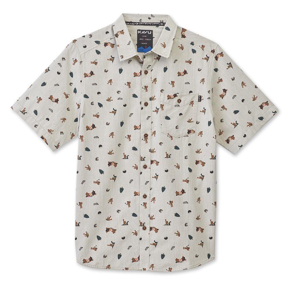 Kavu Juan Sasquatch Men's Short Sleeve Shirt