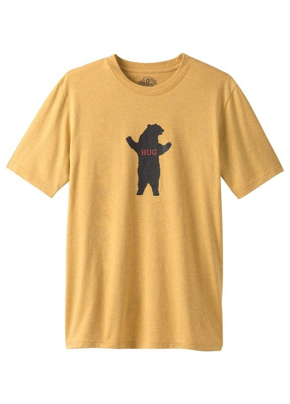 prAna Journeyman Bear Squeeze Tee