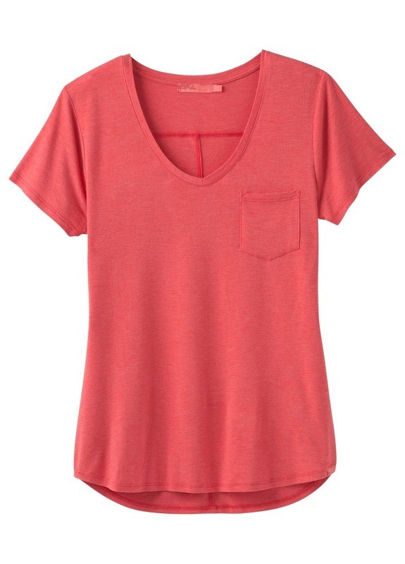 prAna Foundation V Neck Tee