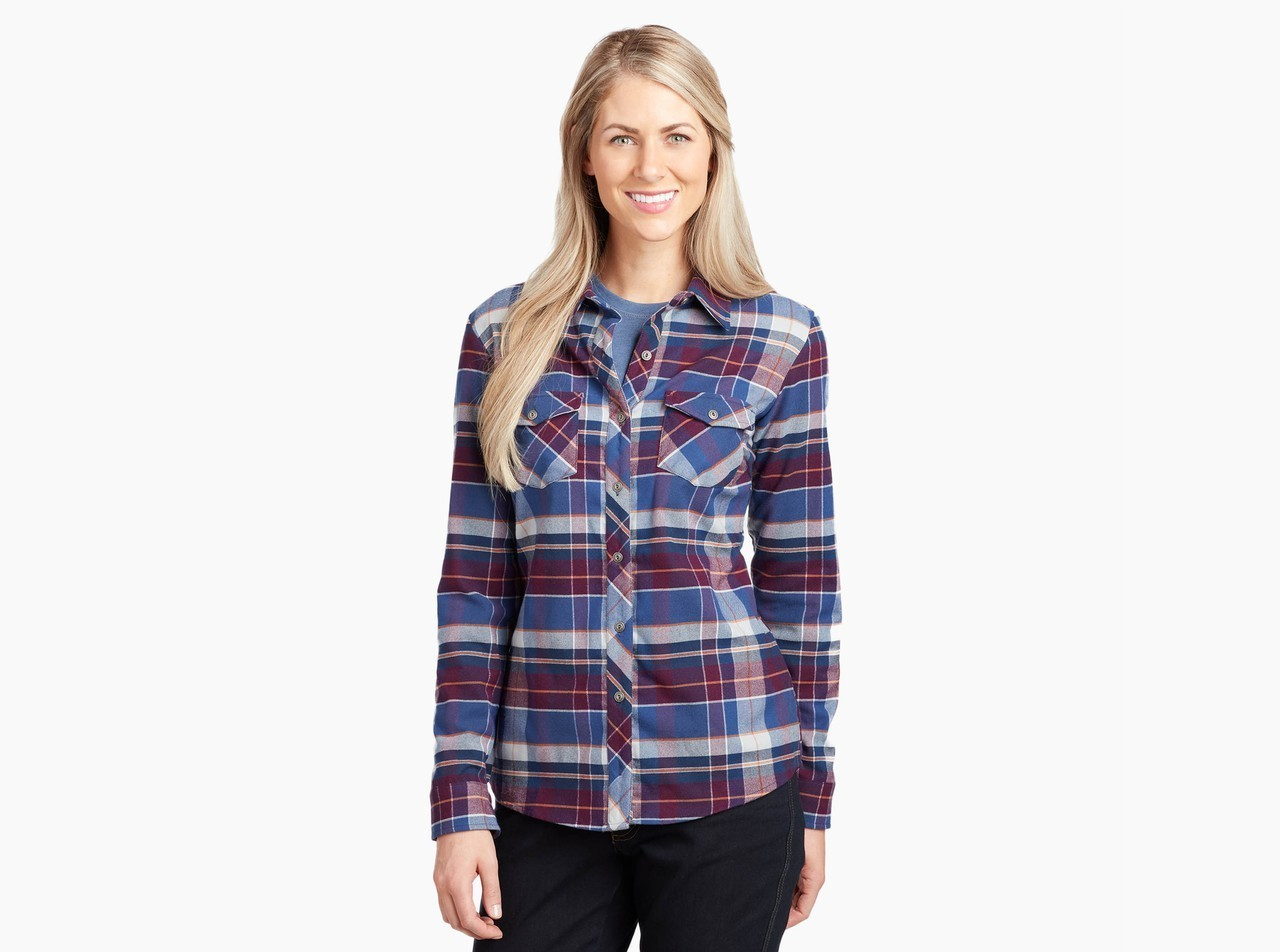 Kuhl Greta Flannel Night Sky