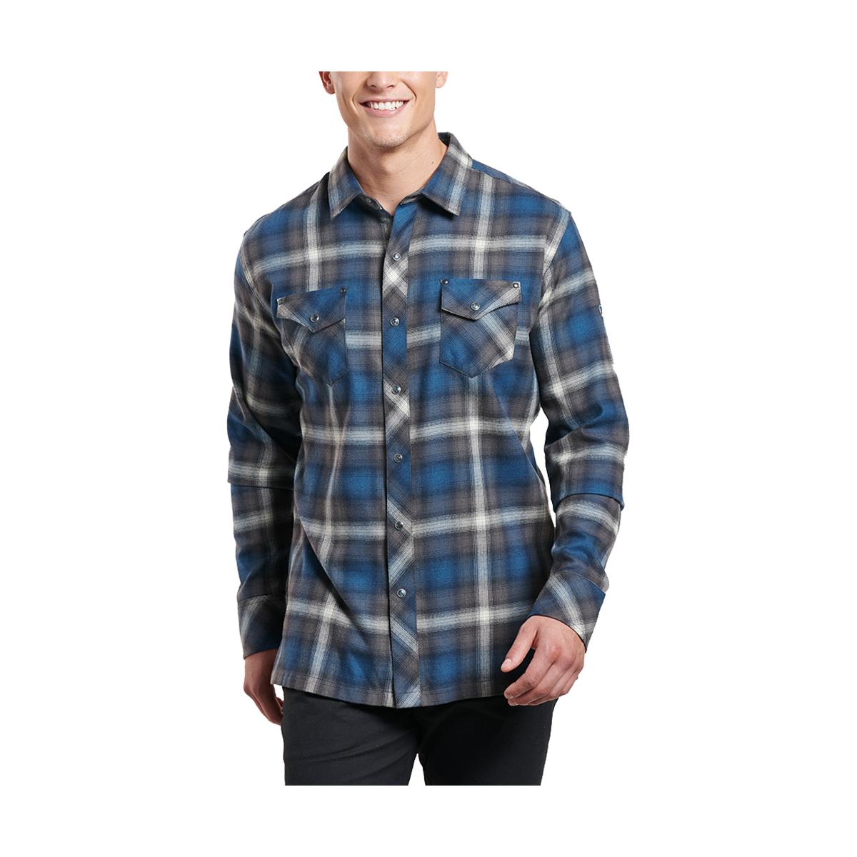 Kuhl Lowdown Flannel Long Sleeve Shirt