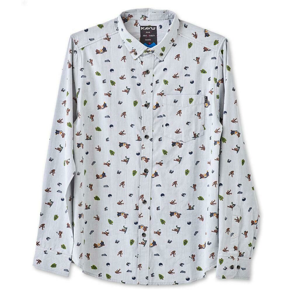 Kavu Linden Sasquatch Long Sleeve Shirt