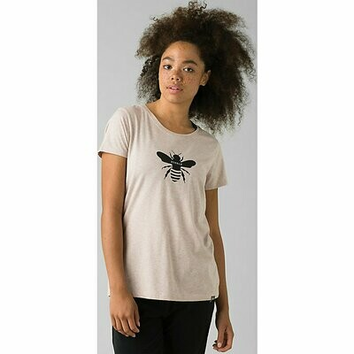 prAna Women's Graphic Tee - Bee Humble