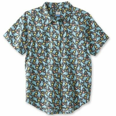 Kavu Girl Party Short Sleeve Shirt