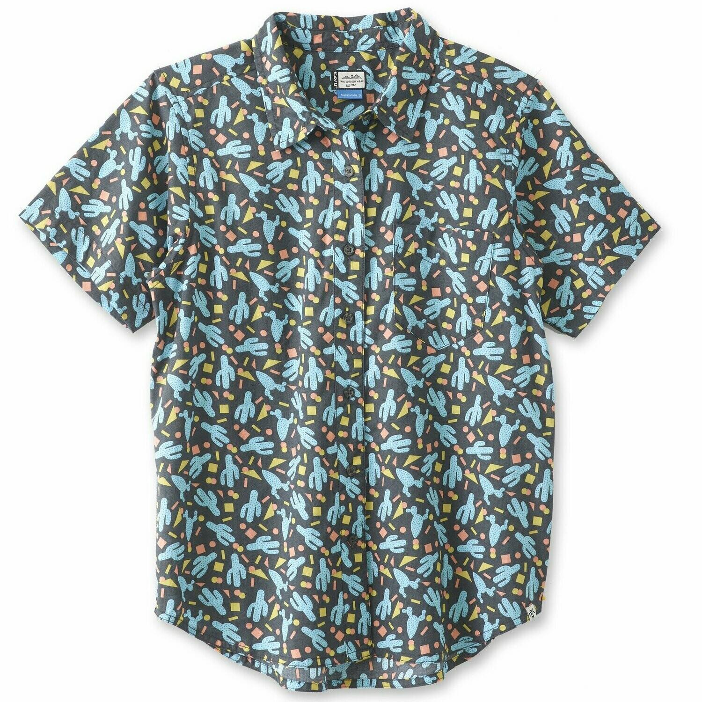 Kavu Girl Party Short Sleeve Shirt