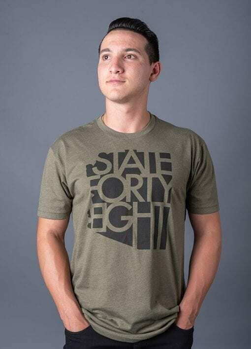 State Forty-Eight Military Green & Black