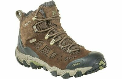 Oboz Men's Bridger Vent Mid Waterproof Hiking Shoe