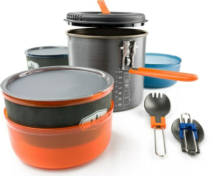 GSI Outdoors Pinnacle Dualist II - Two Person Cookset