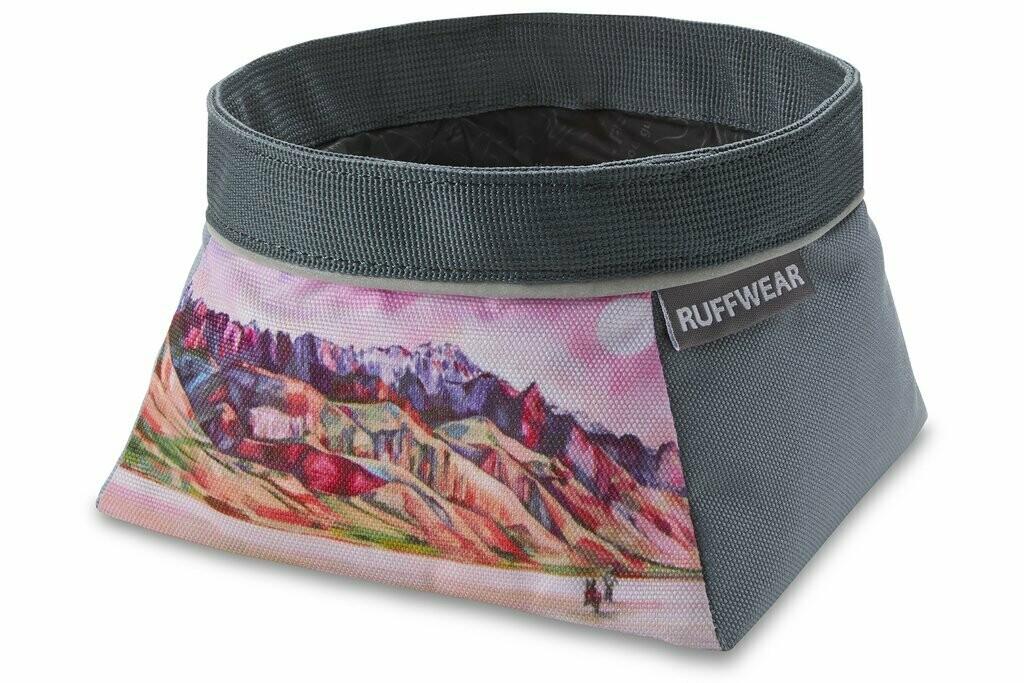 Ruffwear Quencher Artist Series Packable Food & Water Bowl