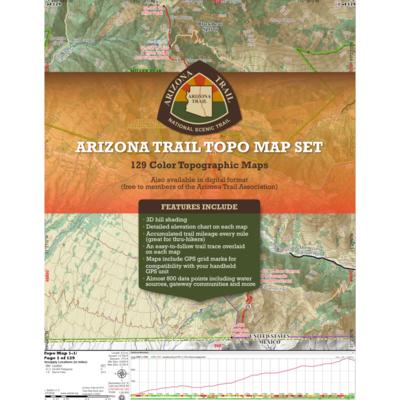Arizona Trail Topo Map Set